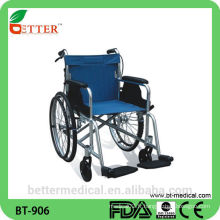 Chaise roulante en aluminium léger