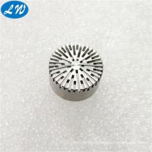 Precision small quantity cnc machining micro Prepolarized Microphone parts steel cnc machining