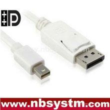 Mini DisplayPort para DisplayPort cabo