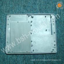 OEM con la caja del refrigerador del hielo de la placa de diamante de aluminio del hardware ISO9001