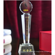 Custom Crystal Trophy Cup for Business Gift