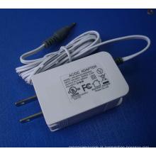 5V2a Certificado UL Aprovado Adaptador DC AC com PSE Certificado