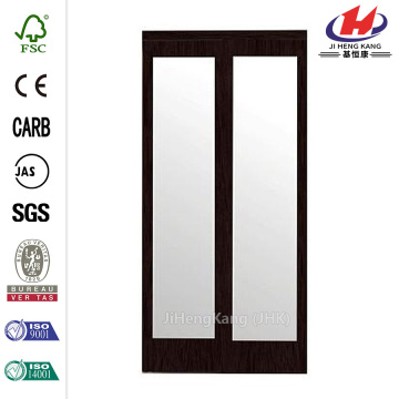 2000 Series Composite Cherry Glass Sliding Door