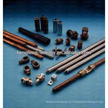Materiales de protección de relámpago