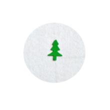 Varias formas de copos de brillo grueso Para Navidad, otras fiestas y decoración de uñas