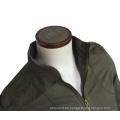 Stilvolle Mens Blackout Leichte Bomberjacke Slim Fit Armee-Grün-Jacke Ohne Kapuze Jacke Herren Mantel Großhandel