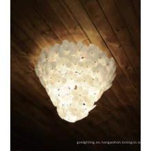 Lámpara de techo de la decoración de la flor de la iluminación del hotel (1068c)