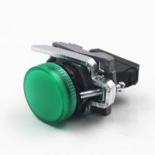 Botão elétrico da série Lay4-BV com luz indicadora LED