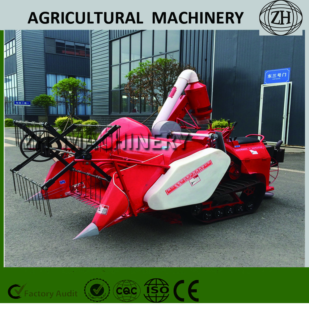 Full Feeding Mini Combine Rice Harvester