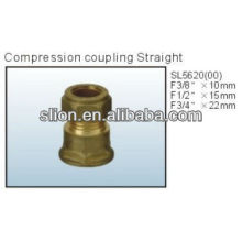Compression fitting Straight