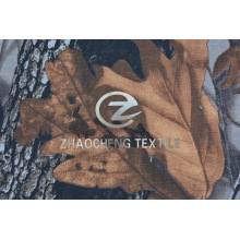 Tecido de camuflagem de 100% Ribstop Cotton Forest para colete (ZCBP257)