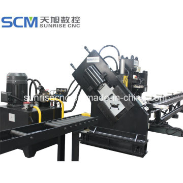 Máquina punzonadora y cortadora CNC