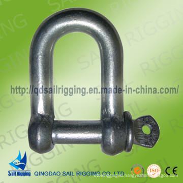 Dee Type Carbon Steel European Type Shackles
