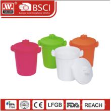 Пользовательские корзины, пластиковые отходы бин, мусора бен 1,4 л