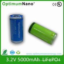 Batterie rechargeable de l'ion 32650battery 5000mAh de 3.2V 5ah Lithium