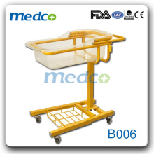 2015 hot sale hospital baby cart\baby bed for sale B006