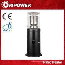 Black Stainless Steel Area Patio Heater