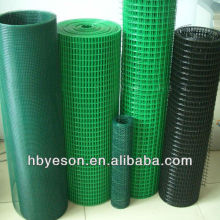 """1/2"""" hole pvc coated mesh / 1.2m height pvc wire mesh construction / PVC Coating Rabbit cage Welded Wire Mesh"""