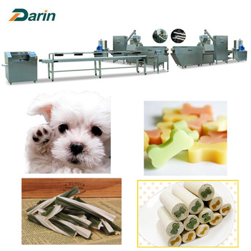 2019 Darin Pet Treats / 개 취급 / 개 씹는 / Dog Snacks Made Machine