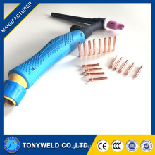 Soudure Tig Torch WP-9/20 collet 13n22 pour machine à souder à l'argon