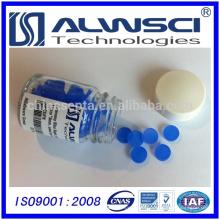 0-320 azul 11mm Silicona Alta Temperatura Baja Sangrado GC Septa