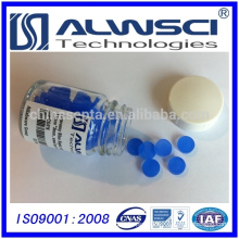 0-320 blue 11mm Silicone High Temperature Low Bleed GC Septa