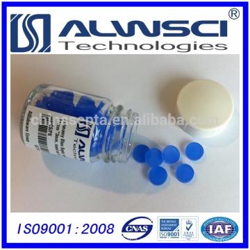 0-320 blau 11mm Silikon Hochtemperatur Niedrige Bleed GC Septa