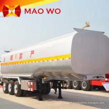 Shock Price 45000 litres de semi-remorque de réservoir d'huile
