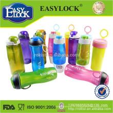 BPA sans alcool en plastique sport bouteille d'eau potable 580ML