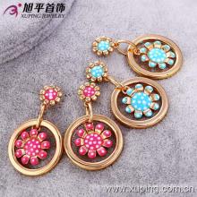 26685 Xuping Fashion Damen Tropfen Ohrringe Designs Bilder
