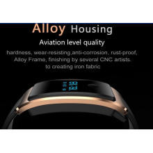 Fitness Tracker, montres intelligentes résistantes à l'eau Bluetooth 4.0, sommeil et moniteur de fréquence cardiaque est compatible avec les smartphones Android