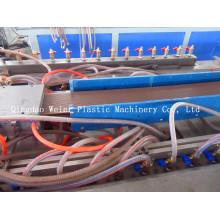 Chaîne de production de panneau de Decking de WPC
