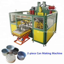 Automatic metal two pieces fish can tin can making production line