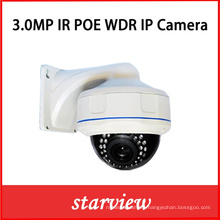 3MP WDR Poe IP Vandal-Proof Dome Zoom Lens Camera