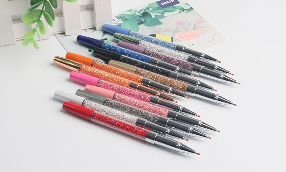 Exclusive Crystal Gel Ink Pen