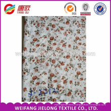 Made in china low price dress fabric viscose rayon printed fabric