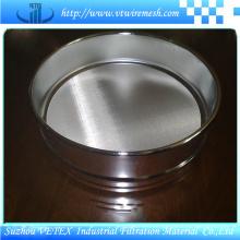 Tamiz de prueba de acero inoxidable de doble capa