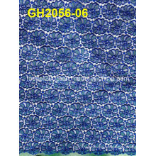 2015 -2016 Latest Design African Water Soluble Laceafrican Cord Lace/Guipure Lace Fabric for Women Dress