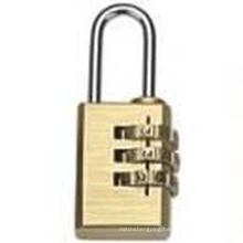 High Security Brass Combination Padlock (J-8041)