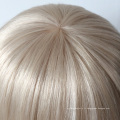 Bonne qualité usine prix mono top cheveux humains topper pour les femmes