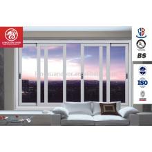 Novo Design Eficiente de dupla vidraça alumínio de vidro deslizante Casement Windows Quality Choice