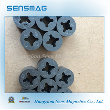 Epoxy Coated Bonded Permanent NdFeB Magnet with 4 Pole