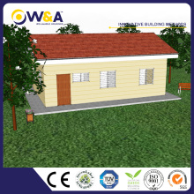 (WAS1506-60D) China Desigh hermoso construido rápidamente casas de Prefab Fabricante