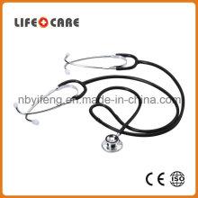 Medical Aluminium Alloy Dual Head Stethoscope for Teaching Use
