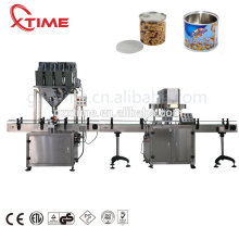 Automatic can canned weighing plastic bottle jar tin