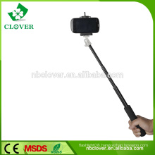 Flexible extendable wholesale monopod selfie stick