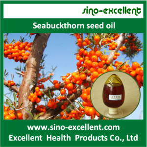Good quality 100% for Natural Health Ingredients seabuckthorn seed oil supply to Romania Importers