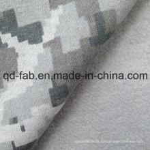 Cânhamo / Algodão Full impressão velo (QF14-1466)
