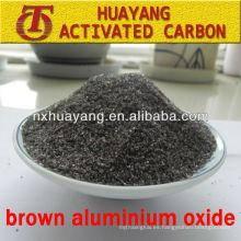 Suministro de AL2O3 96% de alúmina fundida marrón para cerámica y chorro de arena