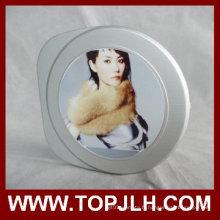 Sublimation impression personnalisée en aluminium feuille Insert plastique CD boîte